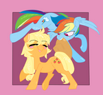 ( MLP ) Apple Horse and Lesbian Poni Collab