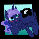 ( MLP ) Fluffy Spider Princess Luna Collab