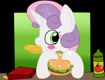 ( MLP ) Sweetie Belle's Lunch Collab