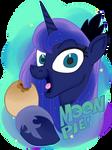 ( MLP ) Princess Luna's Moon Pie Collab