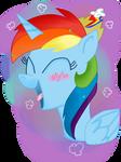 ( MLP ) Princess Rainbow Dash Collab