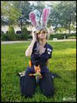 Officer Judy Hopps Chillin' (Zootopia Cosplay)