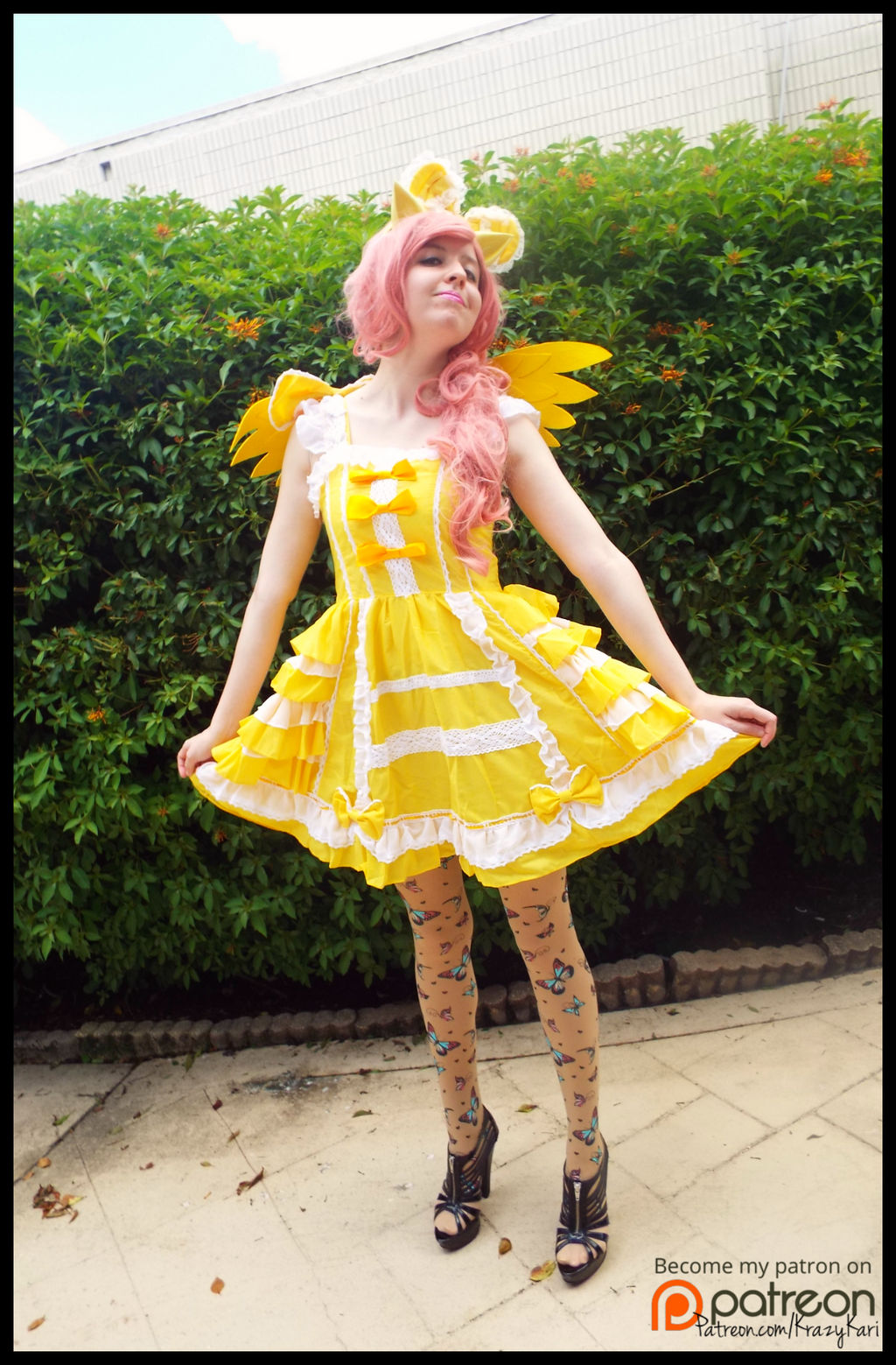 (MLP) Lolita Fluttershy Cosplay