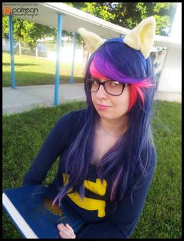 (MLP) Twilight Sparkle the Book Nerd Cosplay