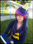(MLP) Twilight Sparkle the Book Nerd Cosplay