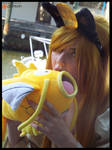 (Pokemon) Lunchtime for Meowth Cosplay by KrazyKari