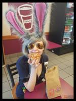(Zootopia) Judy Hopps on Break Cosplay by KrazyKari