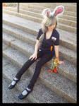 (Zootopia) Her New Police Partner Cosplay by KrazyKari