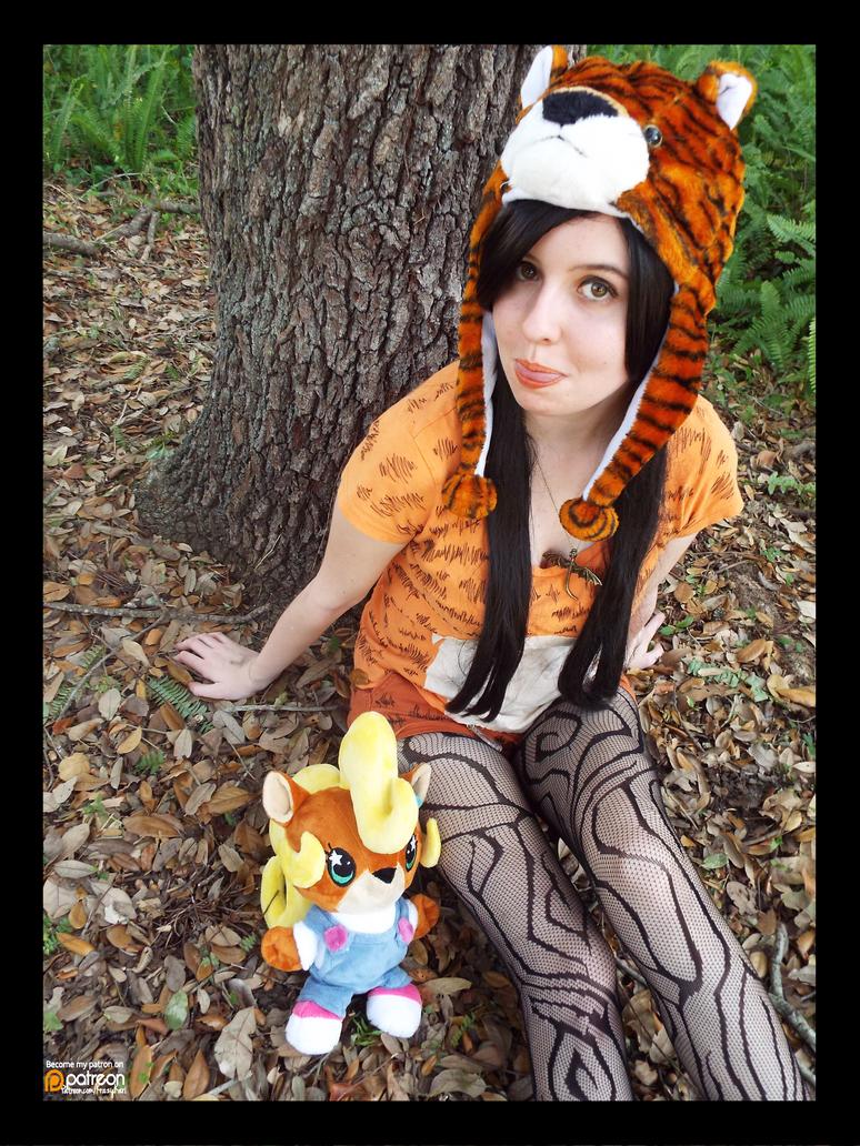 (Crash Bandicoot) Pura the Tiger Cosplay by KrazyKari