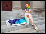 (MLP) Rainbow Dash Gala Cosplay