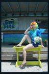 (MLP) Key West Rainbow Dash by KrazyKari