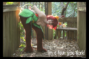 (Spyro) I'M A FAUN YOU DORK! by KrazyKari