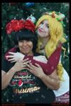 (RWBY) Yang and Blake's Christmas Cosplay #4 by KrazyKari