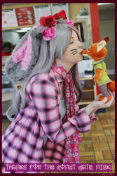 (Zootopia) Valentine's Day Judy Cosplay #4 by KrazyKari
