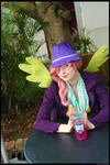 (MLP) Hipster Fluttershy Cosplay by KrazyKari