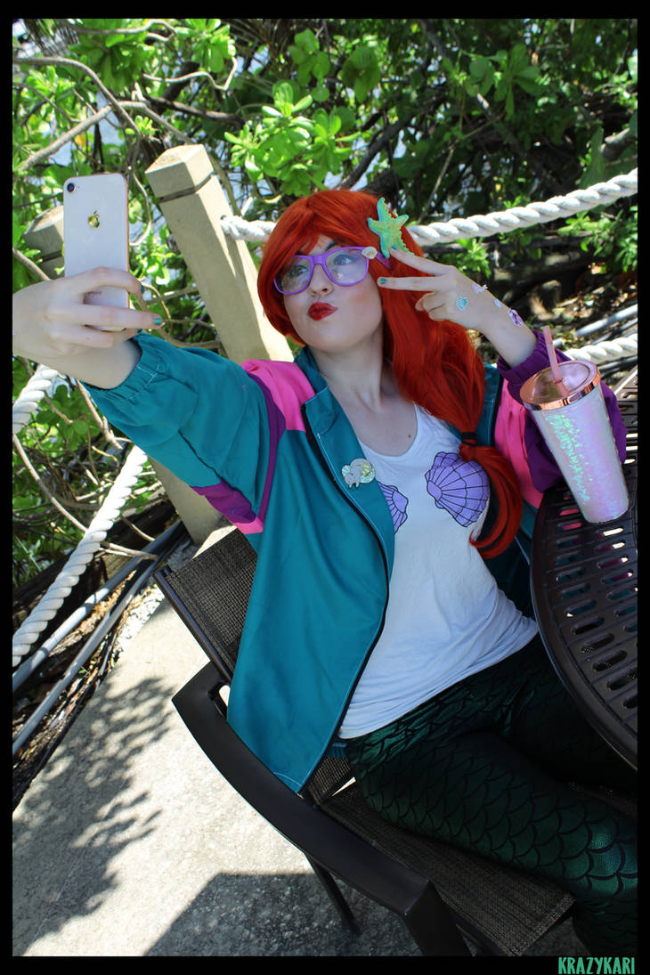 Hipster Ariel Cosplay
