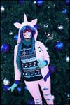 (MLP) Vinyl Scratch Christmas Cosplay