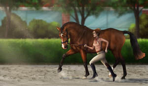 Halter Class| Panic | Summer Of Heat - 1st place by KittycatNita