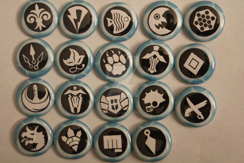 Cardfight Vanguard Buttons by SmilyDUDE252 on DeviantArt