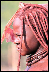 Himba woman by Nyeleti