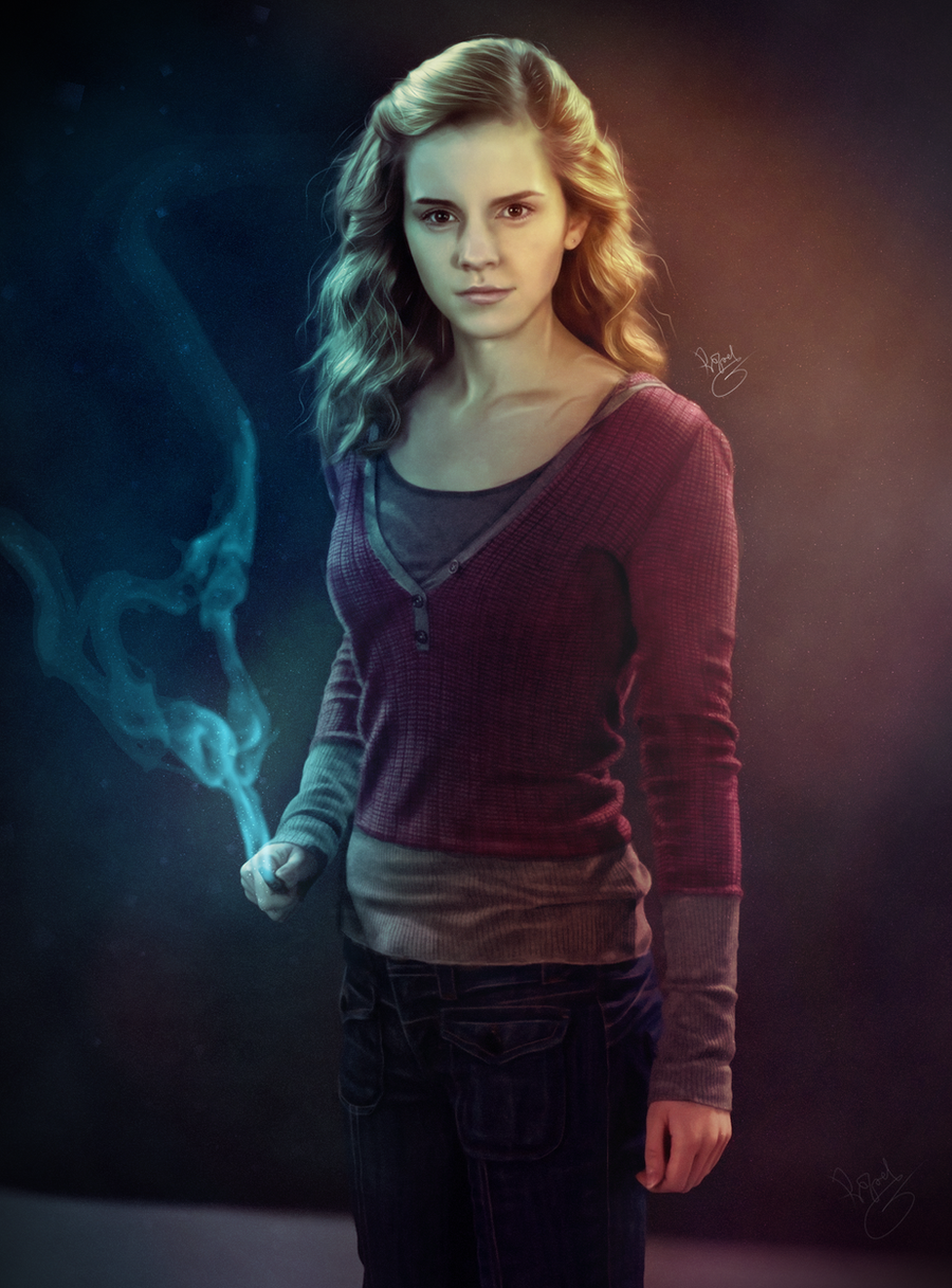 Hermione granger harry potter by rafaelgiovannini on - Harry potter hermione granger fanfiction ...