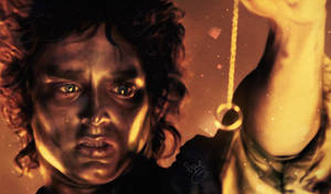 The lord of the rings - Frodo Baggins FANART