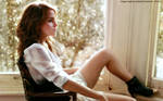 Emma Watson in the room