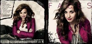 Demi Lovato New Album CD cover - fake