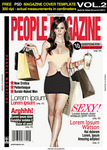 PEOPLE Magazine Cover PSD resource v2