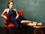 Emma Watson Elegant Wallpaper 04