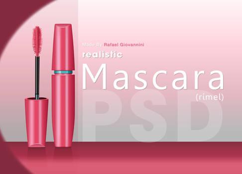 Realistic Mascara - PSD illustration