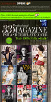PSD: 33 Amazing Magazine covers Templates