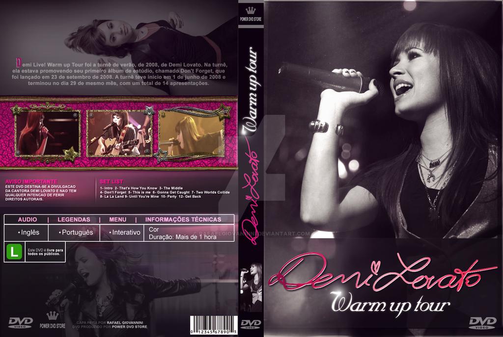 Demi Lovato Warm Up Tour by RafaelGiovannini