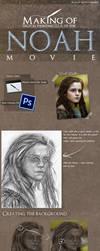 Making Of - Ila Digital Painting by RafaelGiovannini