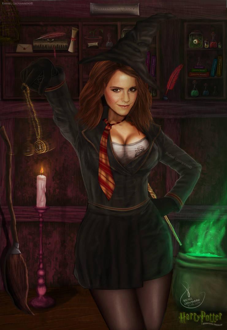 Hermione Granger by RafaelGiovannini on DeviantArt