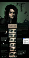 simple eye digital painting tutorial. by Rashedjrs