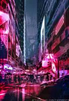 Cyber-city by Rashedjrs