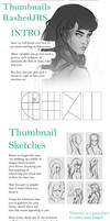 Thumbnails tutorial by Rashedjrs