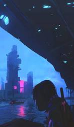 Bangkok 2077 by Rashedjrs