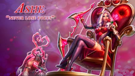 Ashe Heartseeker by Inorix3