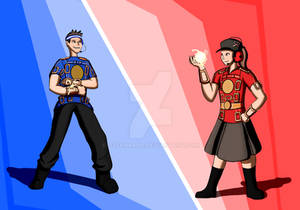 Spellbinder Power Suits Team Fortress 2 style
