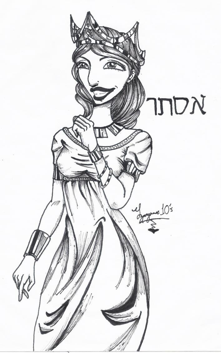 queen coloring pages download and print for free. queen esther. old ...