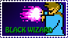 Black Wiz NES Stamp by Agent505