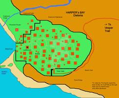 Harper's Bay Map