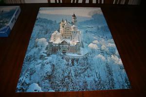 Neuschwanstein Castle Puzzle 01