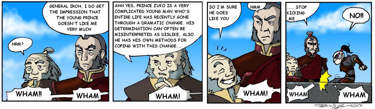 Zuko vs Zhao 2 by Evilddragonqueen