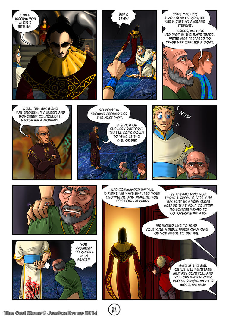 The God Stone: Ch. 2, p. 14 by Evilddragonqueen