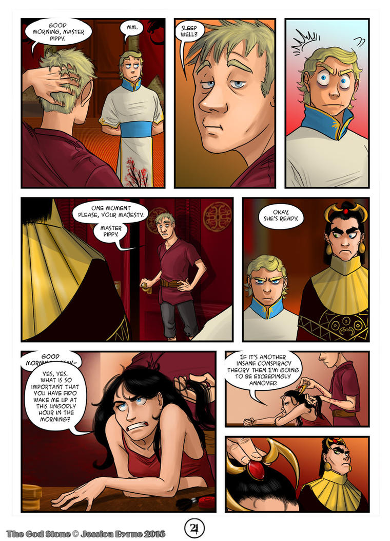 The God Stone: Ch. 2, p. 21 by Evilddragonqueen