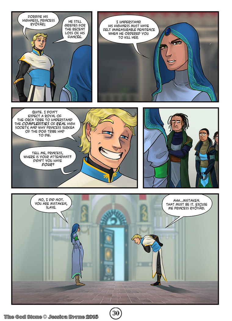 The God Stone: Ch. 2, p. 30 by Evilddragonqueen