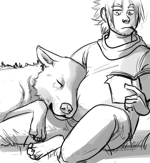 Cuddle by Evilddragonqueen